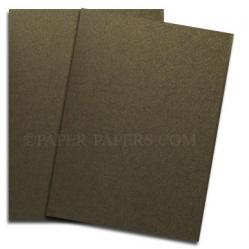 Shine BRONZE - Shimmer Metallic Paper - 8.5 x 11 - 80lb Text (118gsm) - 25 PK