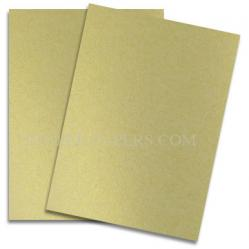 Shine (Light) GOLD - Shimmer Metallic Paper - 8.5 x 11 - 80lb Text (118gsm) - 25 PK