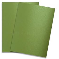 Shine LIME SATIN - Shimmer Metallic Paper - 28x40 - 80lb Text (118gsm)