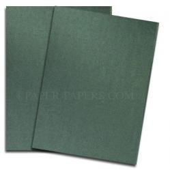 Shine MOSS - Shimmer Metallic Card Stock - 8.5 x 11 - 107lb Cover - 500 PK