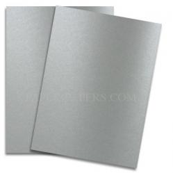 Shine PEWTER - Shimmer Metallic Paper - 8.5 x 11 - 80lb Text (118gsm) - 25 PK