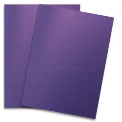 Shine VIOLET SATIN - Shimmer Metallic Paper - 28x40 - 80lb Text (118gsm)