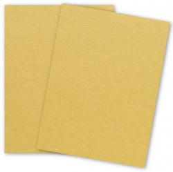 Stardream Metallic - 8.5 x 11 - Cardstock Paper - 105lb Cover - AMBER - 25 PK