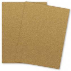 Stardream Metallic - 8.5X11 Card Stock Paper - ANTIQUE GOLD - 105lb Cover (284gsm) - 25 PK