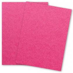 Stardream Metallic - 8.5X11 Card Stock Paper - AZALEA - 105lb Cover (284gsm) - 25 PK