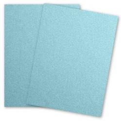 Stardream Metallic - 28.3 x 40.2 Full Size Paper - BLUEBELL - 105lb Cover