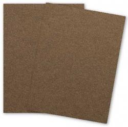 Stardream Metallic - 8.5 x 11 - Cardstock Paper - 105lb Cover - BRONZE - 25 PK
