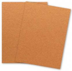 Stardream Metallic - 8.5X11 Card Stock Paper - COPPER - 105lb Cover (284gsm) - 25 PK