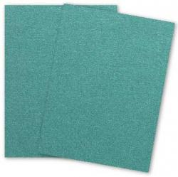 Stardream Metallic - 8.5 x 11 - Text Weight Paper - EMERALD - 25 PK