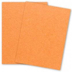 Stardream Metallic - 8.5X11 Card Stock Paper - FLAME - 105lb Cover (284gsm) - 25 PK