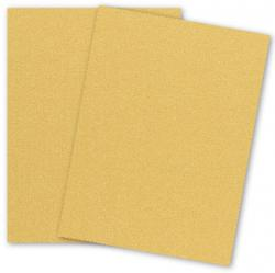 Stardream Metallic - 8.5 x 11 - Cardstock Paper - 105lb Cover - GOLD - 25 PK