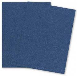 Stardream Metallic - 8.5X11 Card Stock Paper - LAPIS LAZULI - 105lb Cover (284gsm) - 25 PK