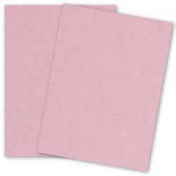 Stardream Metallic - 8.5X11 Card Stock Paper - ROSE QUARTZ - 105lb Cover (284gsm) - 25 PK