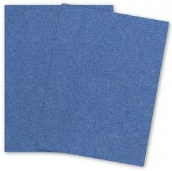 Stardream Metallic - 8.5 x 11 - Cardstock Paper - 105lb Cover - SAPPHIRE - 25 PK