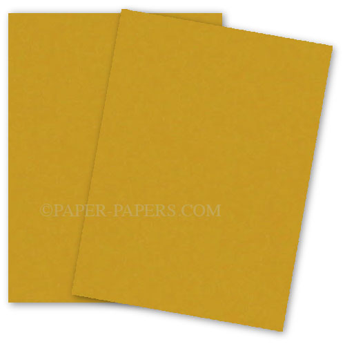 Astrobrights 8.5 x 11 Paper - GALAXY GOLD - 60lb Text - 500 PK