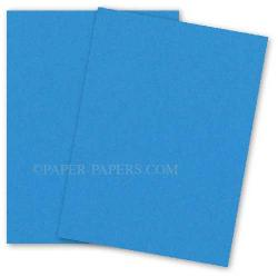 Neenah (Wausau) Astrobrights 8.5 x 11 Paper - CELESTIAL BLUE - 60lb Text - 500 PK