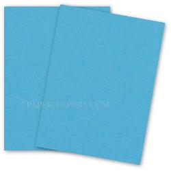 Neenah (Wausau) Astrobrights 8.5 x 11 Paper - LUNAR BLUE - 60lb Text - 500 PK
