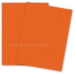 Neenah (Wausau) Astrobrights 8.5 x 11 Paper - ORBIT ORANGE - 60lb Text - 500 PK
