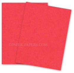 Neenah (Wausau) Astrobrights 8.5 x 11 Paper - ROCKET RED - 60lb Text - 500 PK