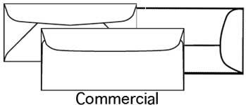 Envelope Size Grid - Sort through envelopes from smaller to larger