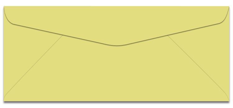 Domtar Colors - Earthchoice No. 6-3/4 Envelopes - CANARY - 2500/carton
