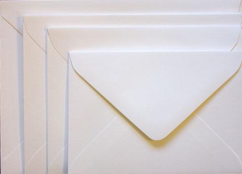 Mohawk Superfine ULTRAWHITE Eggshell - A6 Envelopes EURO FLAP (80T ...