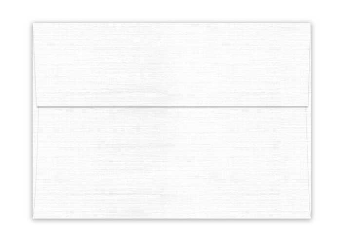 Classic LINEN Solar White (80T/Linen) - A7 Envelopes (5.25-x-7.25 ...