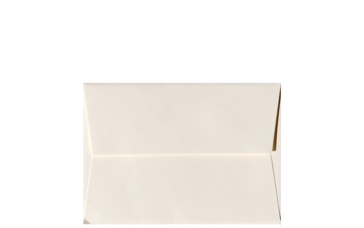 Crane (Lettra) - A1 Envelopes - 100% Cotton - Ecru White - 25 PK