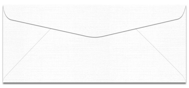 Mohawk VIA Linen - PURE WHITE - No. 10 Envelopes - 500 PK