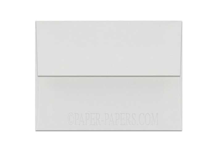 100% Cotton A2 Envelopes (4.375-x-5.75) - Savoy Bright White - 25 PK
