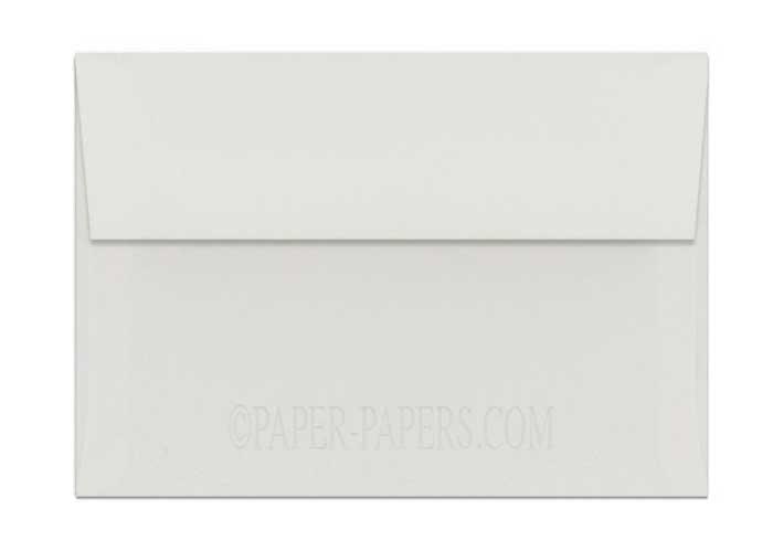 100% Cotton A7 Envelopes (5.25-x-7.25) - Savoy Natural White - 250 PK